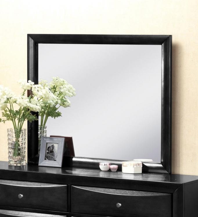 Ireland Mirror - Black