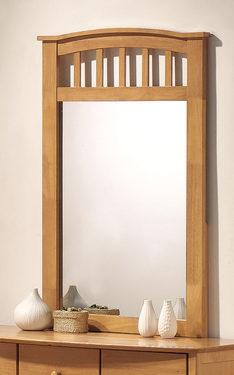 San Marino Mirror - Maple
