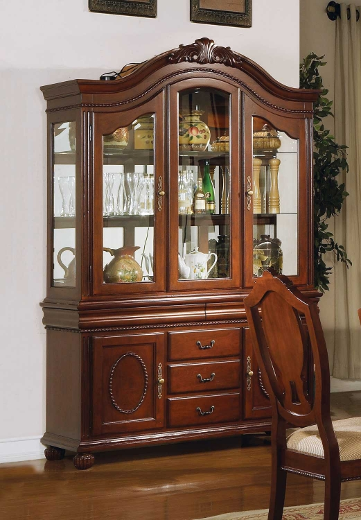 Classique Hutch and Buffet - Cherry