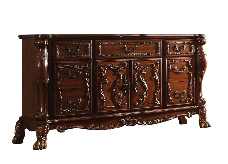 Dresden Dresser - Cherry Oak