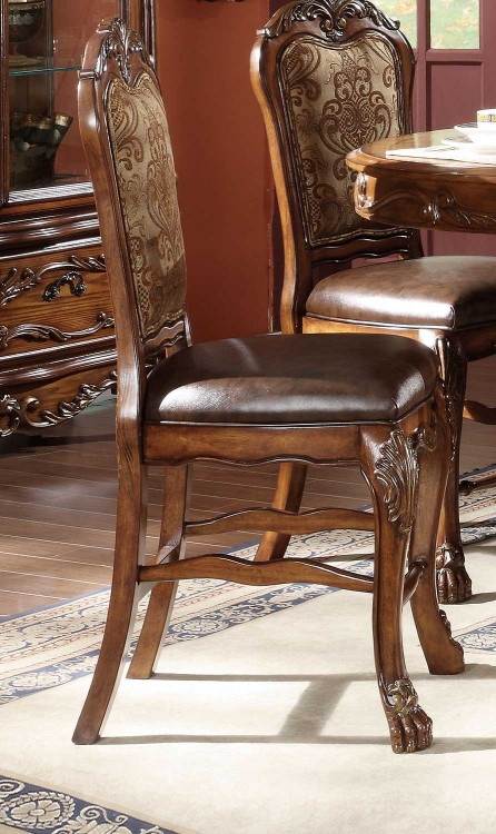 Dresden Counter Height Chair - Cherry Oak
