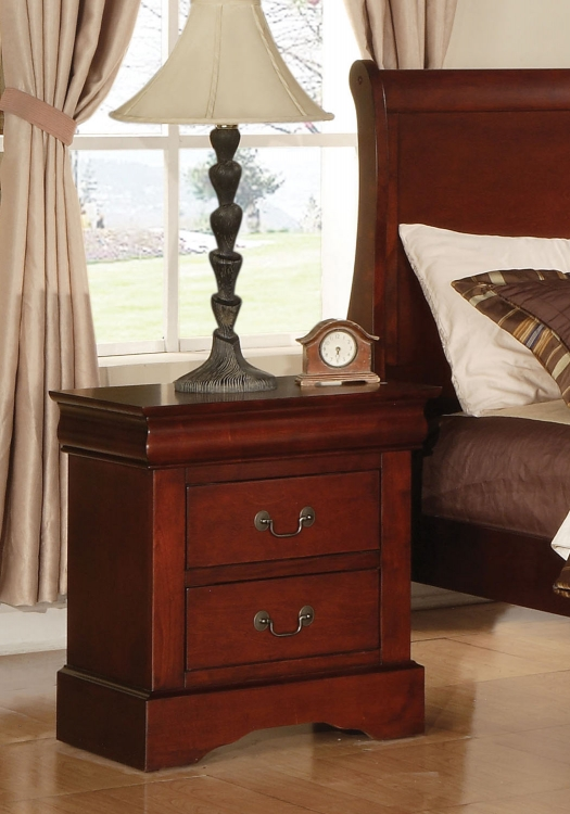 Louis Philippe III Nightstand - Cherry