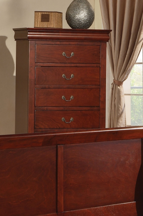 Louis Philippe III Chest - Cherry
