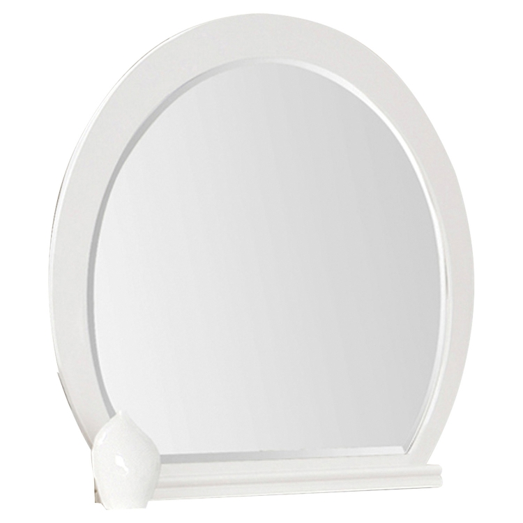 Vivaldi Mirror - White High Gloss
