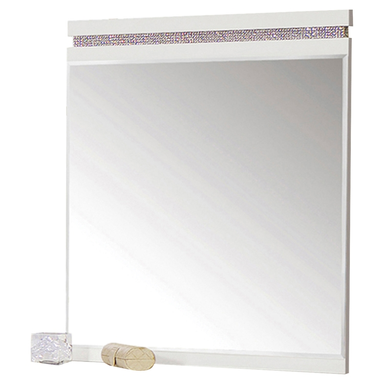 Valentina Mirror - White High Gloss