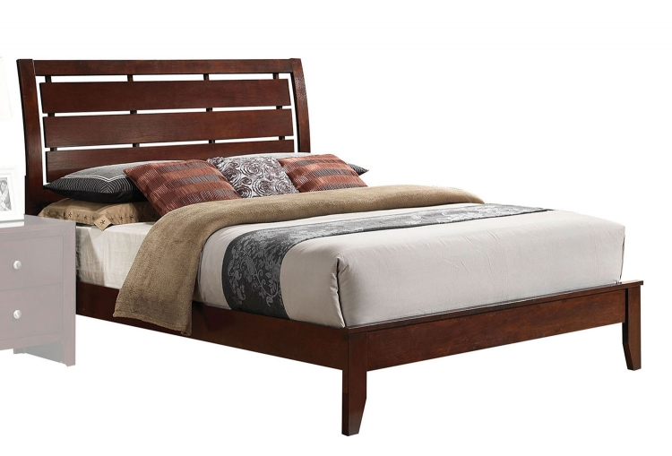 Ilana Bed - Brown Cherry