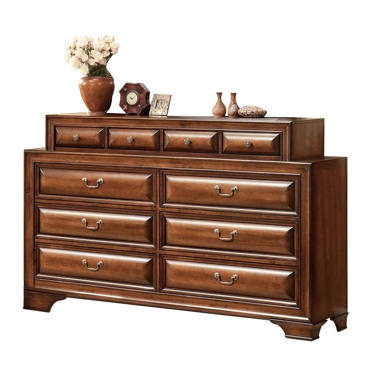 Konane Dresser - Brown Cherry
