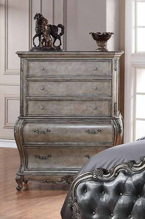 Chantelle Chest - Antique Platinum