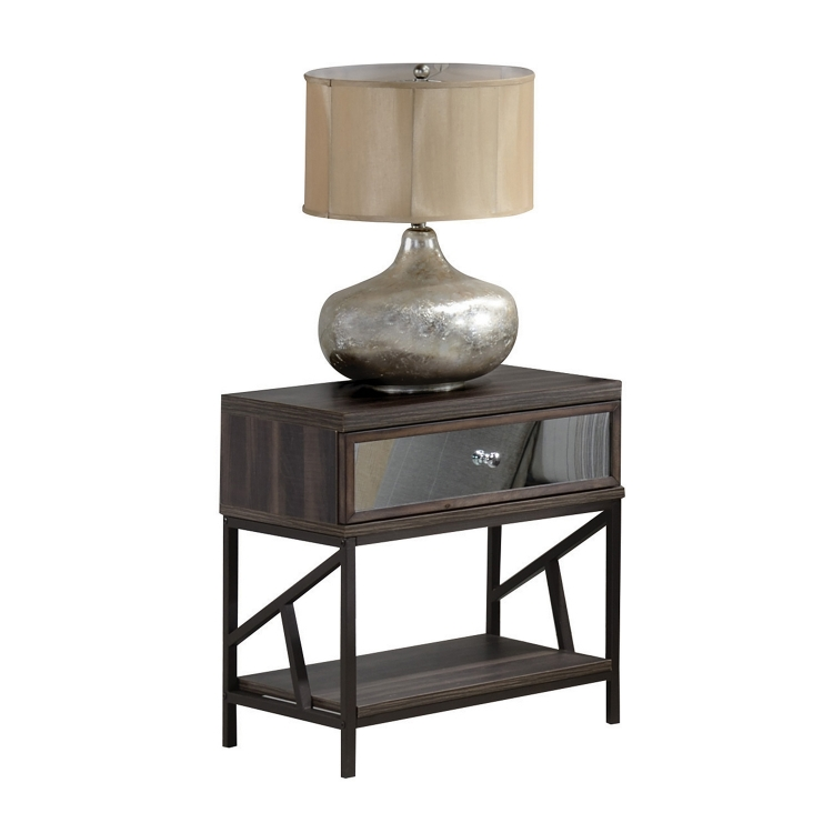 Adrianna Nightstand - Walnut