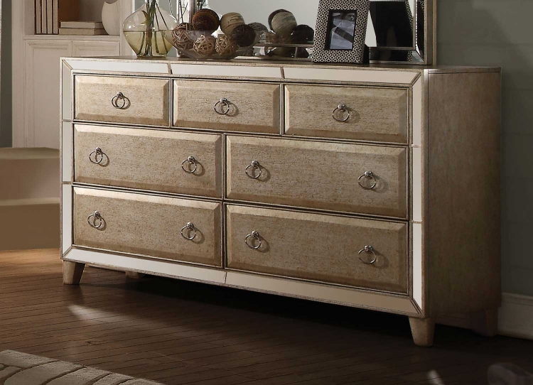 Voeville Dresser - Antique Gold