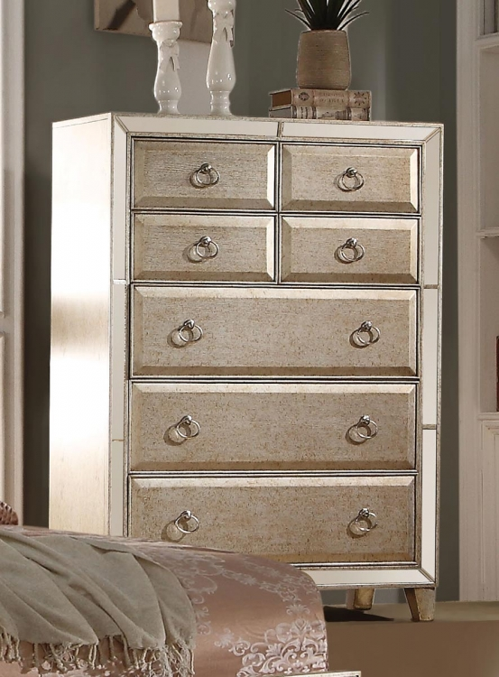 Voeville Chest - Antique Gold