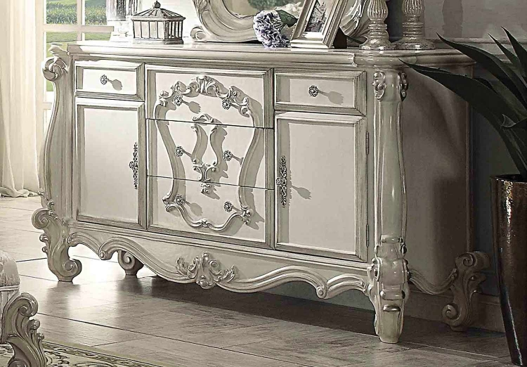 Versailles Dresser - Bone White