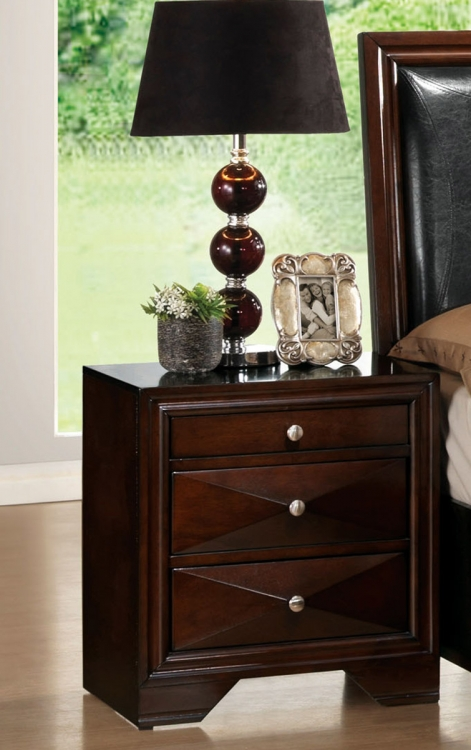 Windsor Nightstand - Merlot