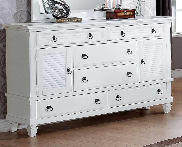 Merivale Dresser - White