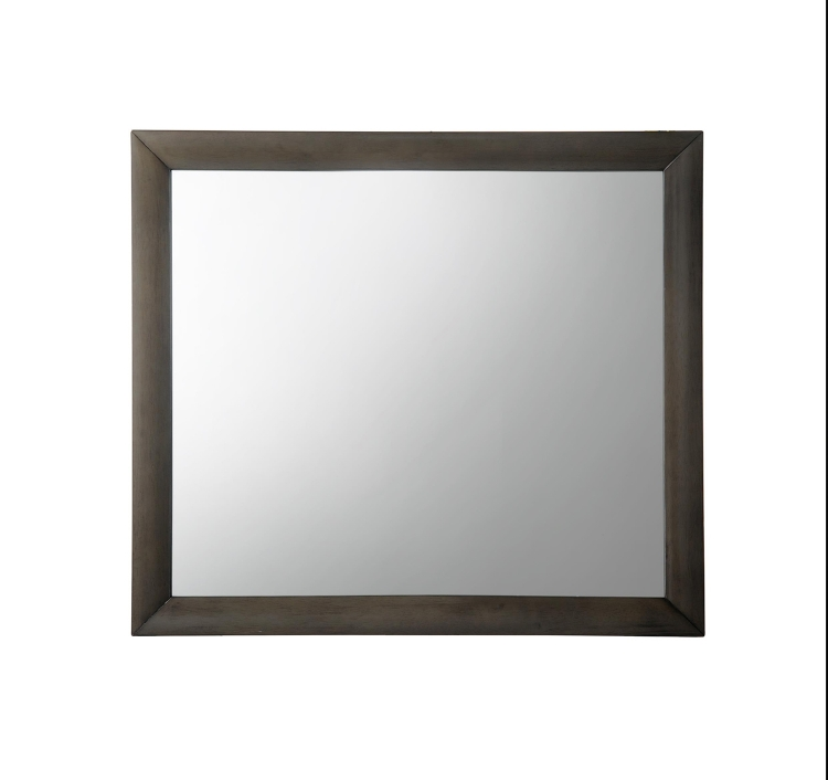 Ireland Mirror - Gray Oak