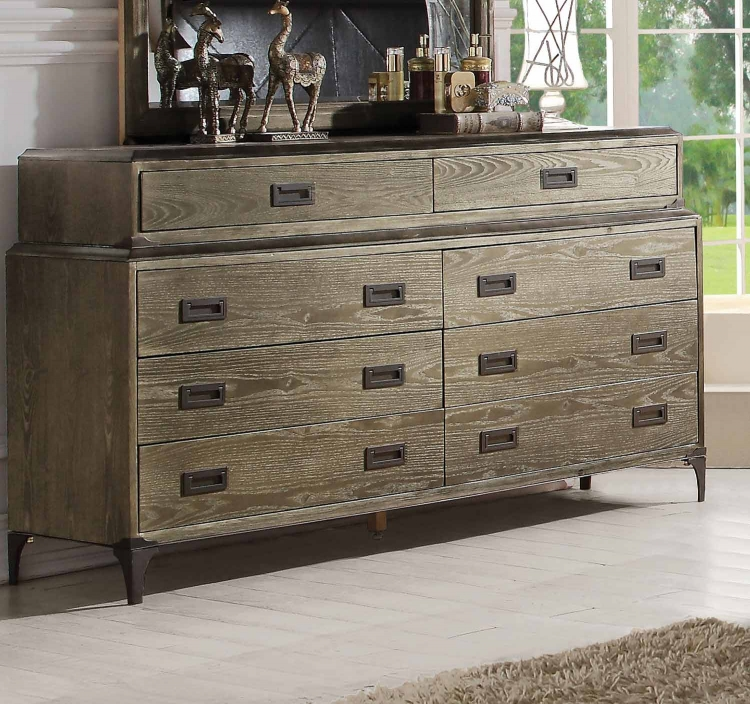 Athouman Dresser - Weathered Oak