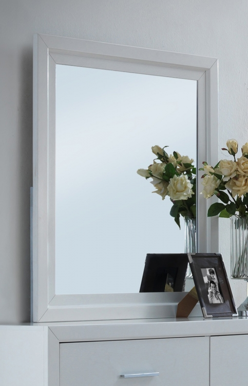 Switzer Mirror - White