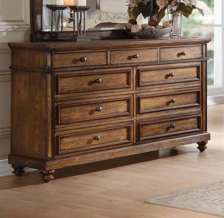 Arielle Dresser - Slate/Oak