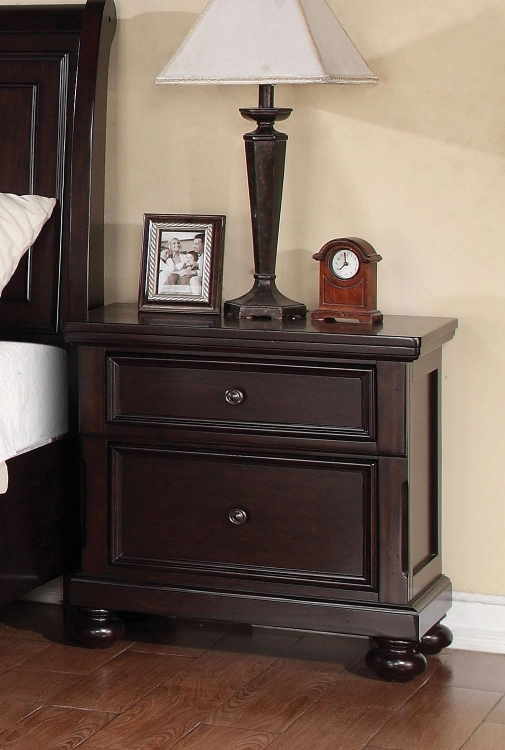 Grayson Nightstand - Dark Walnut