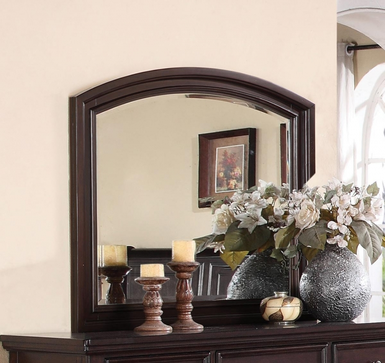 Grayson Mirror - Dark Walnut