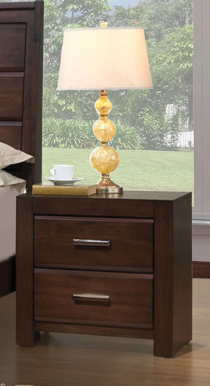 Oberreit Nightstand - Walnut