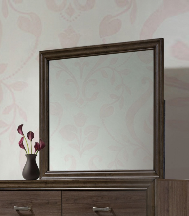 Cyrille Mirror - Walnut