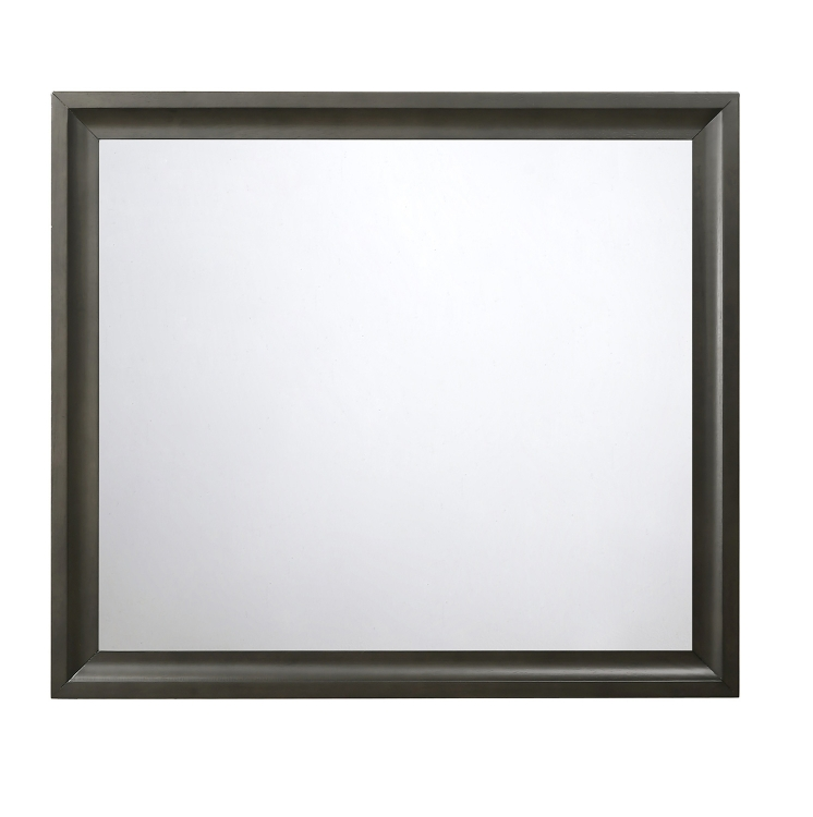 Soteris Mirror - Antique Gray