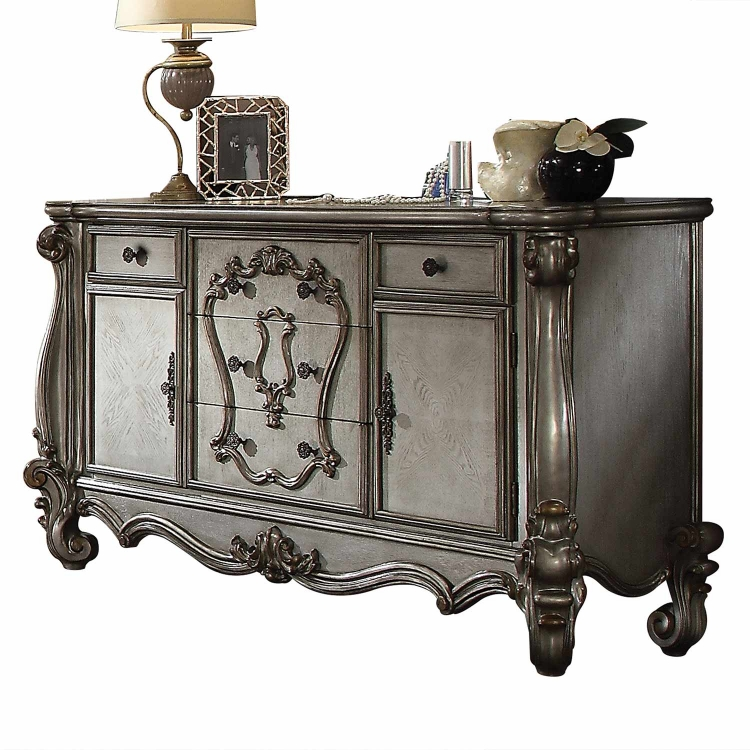 Versailles Dresser - Antique Platinum