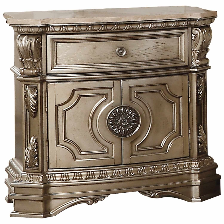 Northville Nightstand - Antique Champagne