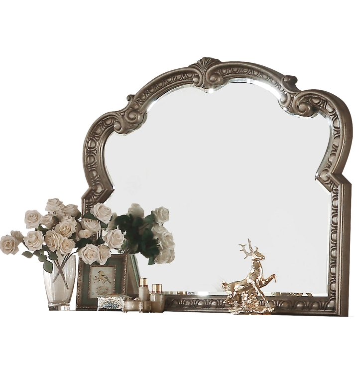 Northville Mirror - Antique Champagne