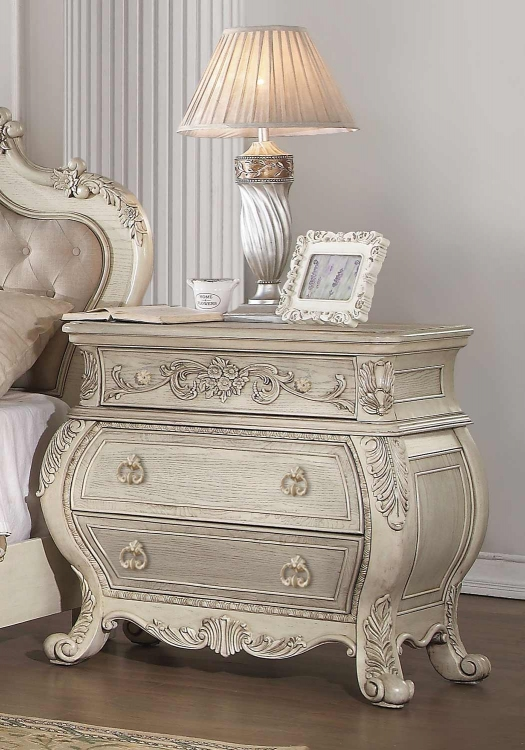Ragenardus Nightstand - Antique White