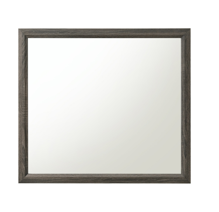 Valdemar Mirror - Weathered Gray