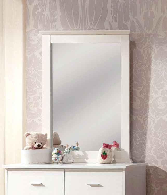 Bungalow Mirror - White
