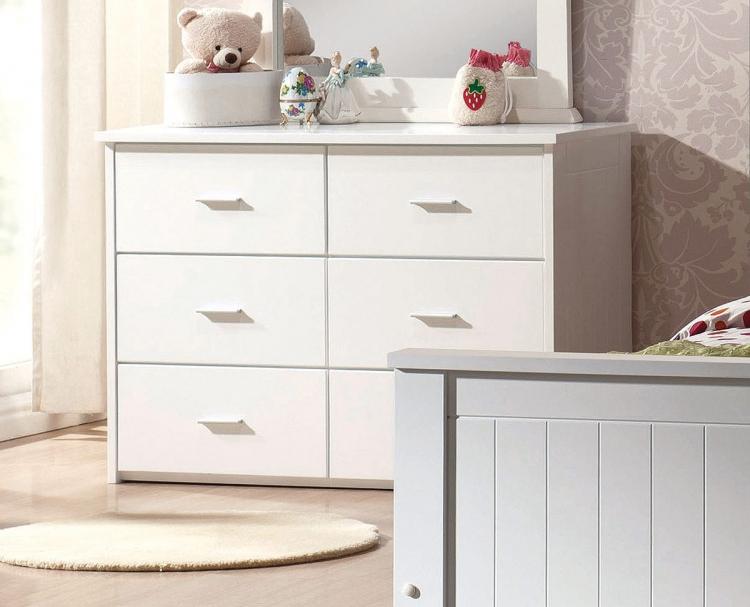 Bungalow Dresser - White