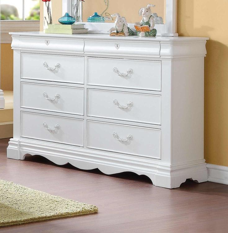 Estrella Dresser - White