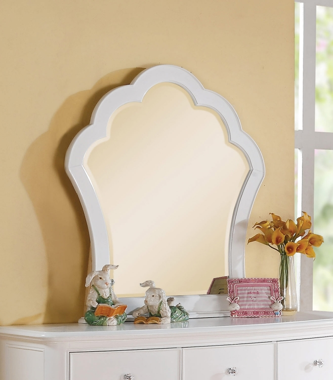 Cecilie Mirror - White