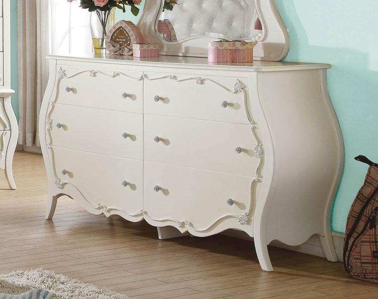 Edalene Dresser - Pearl White