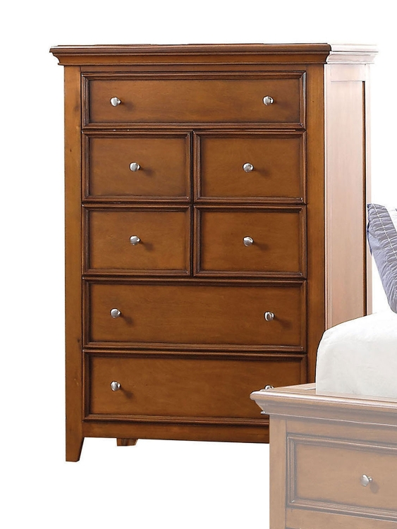 Lacey Chest - Cherry Oak