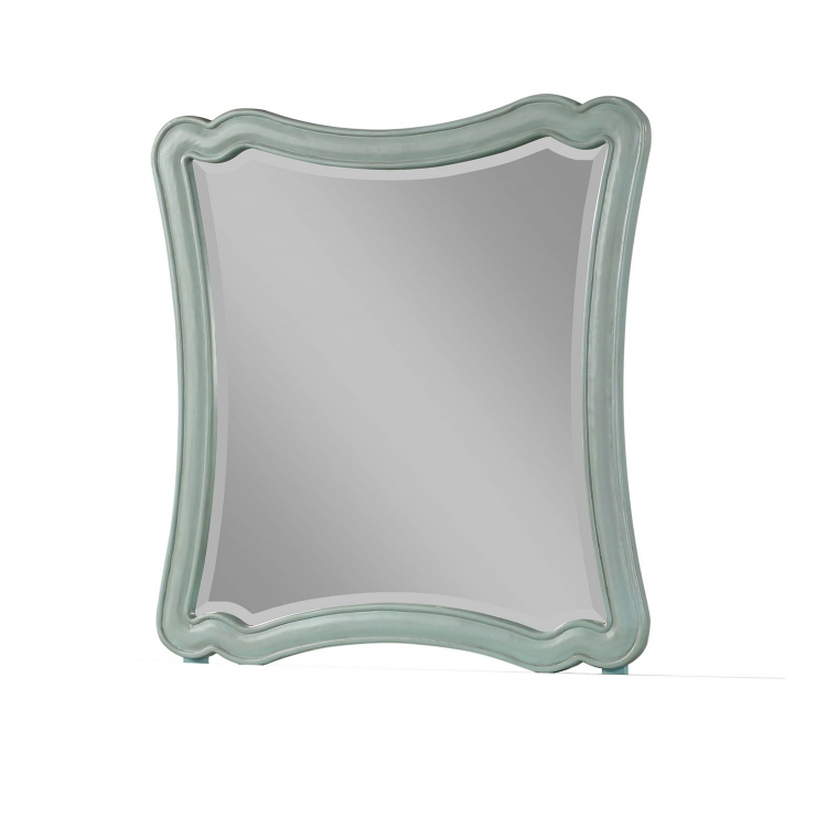 Morre Mirror - Antique Teal