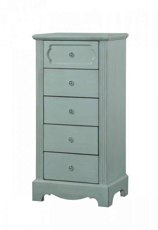 Morre Chest - Antique Teal