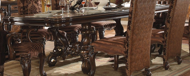 Versailles Dining Table (120L) - Cherry Oak