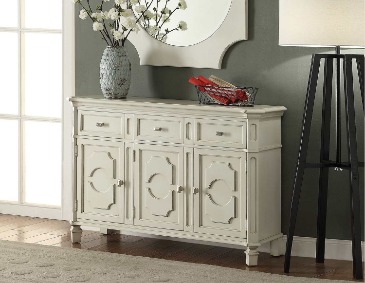 Florissa Server - Antique White