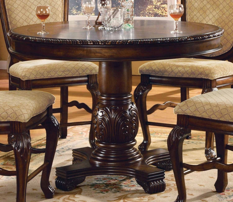 Chateau De Ville Counter Height Table - Espresso