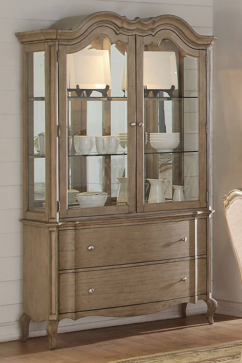 Chelmsford Hutch and Buffet - Antique Taupe