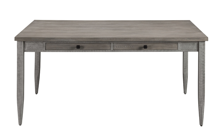 Ornat Dining Table - Gray Oak/Antique Gray