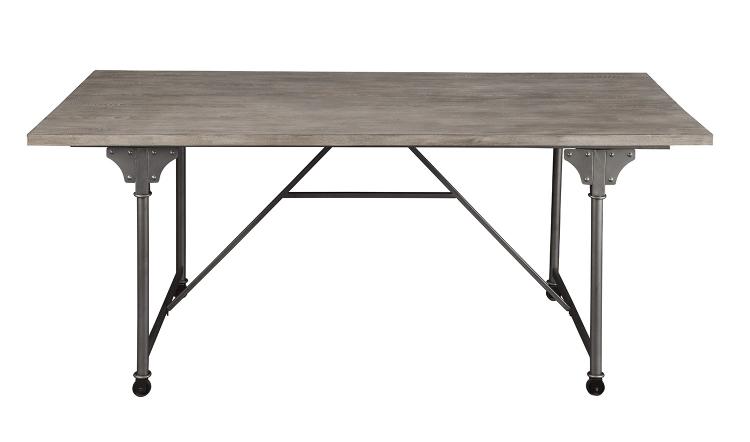 Jonquil Dining Table - Gray Oak/Sandy Gray