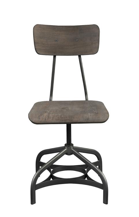 Jonquil Swivel Side Chair - Gray Oak/Sandy Gray