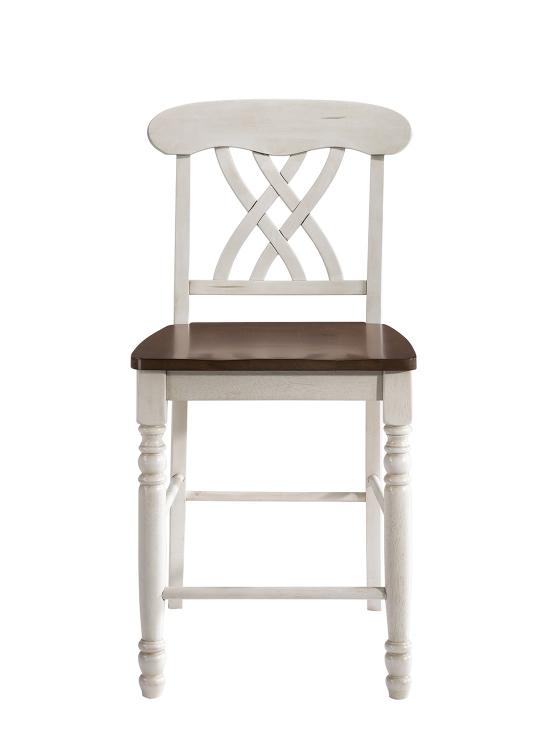 Dylan Counter Height Chair - Buttermilk/Oak