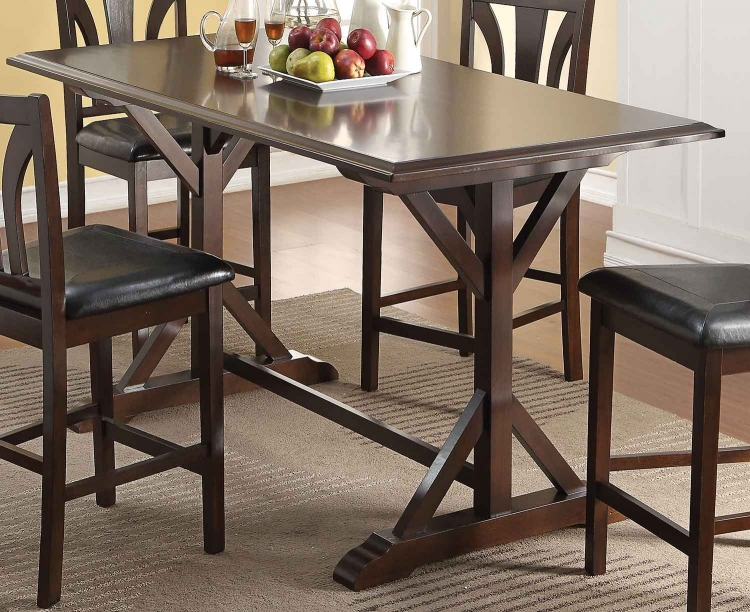Kurtis Counter Height Table - Cherry