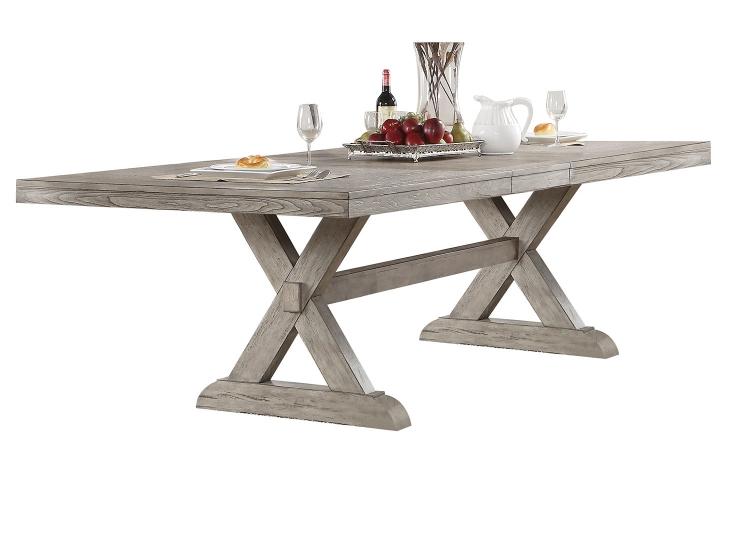 Rocky Dining Table - Gray Oak